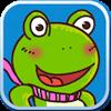 青蛙诺诺滑滑梯