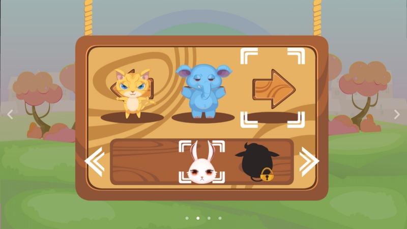 动物连环蹲游戏