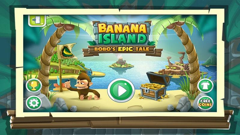 安卓/厅游已为《香蕉岛:波波传奇》提供TV版的全面适配方案,目前游戏...