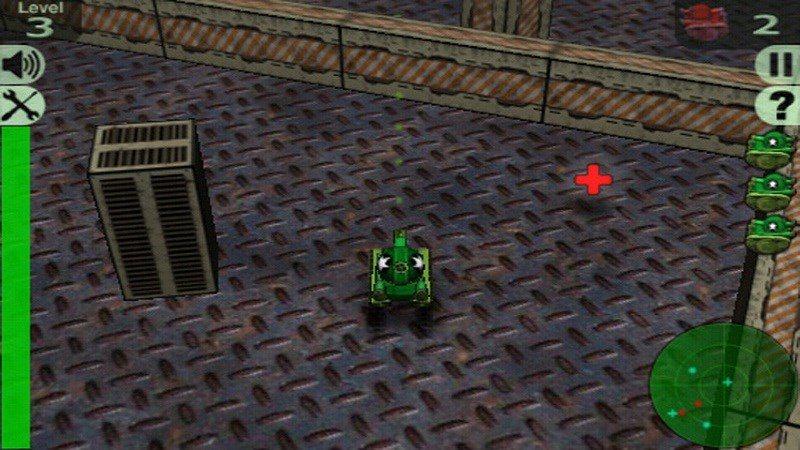 3D疯狂坦克TV版