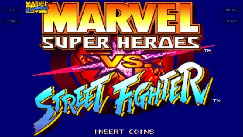 超级漫画英雄对街霸TV版